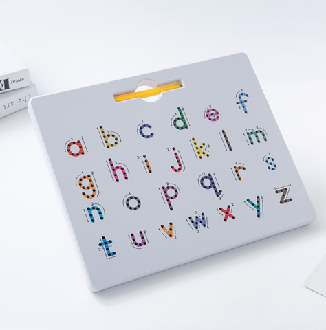 Magnetic Board Double-Sided - Letters