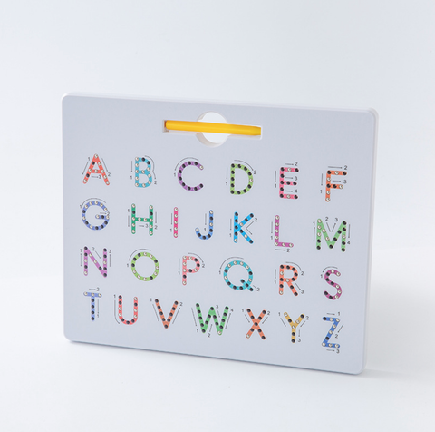 Magnetic Learning Board Double-Sided - Letter+Number