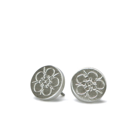 Magical Manuka Silver Earrings