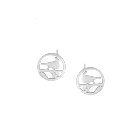 Silver Tui Earrings