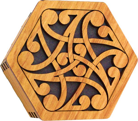 Koru Hexagonal Box