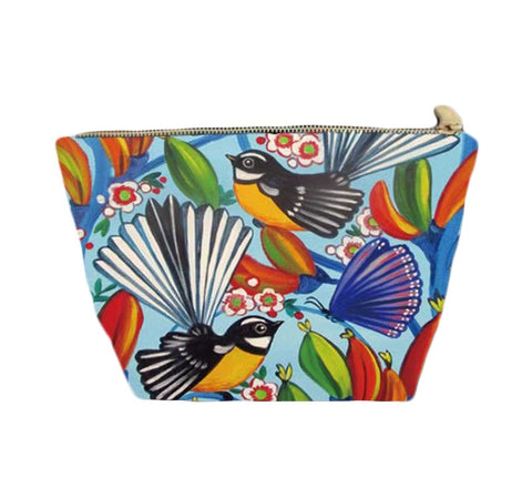 Cosmetic Bag - Fantail Dance