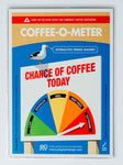O Meter Fridge Magnets - Coffee