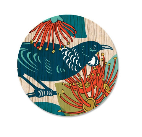 Coaster - Screenprint Tui