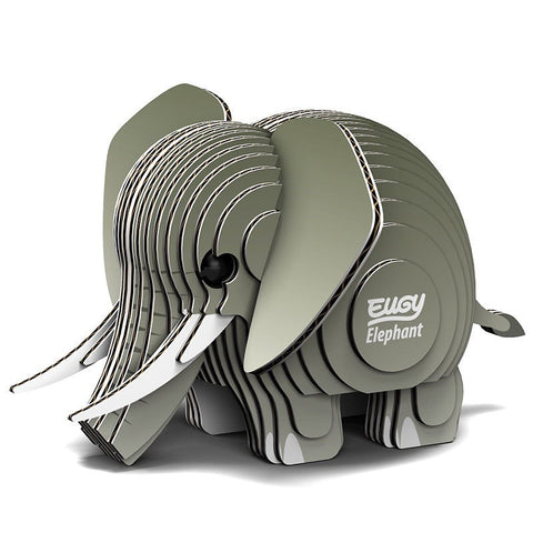 3D Cardboard Kit Set - Elephant