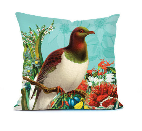 Botanical Wood Pigeon  Cushion cover