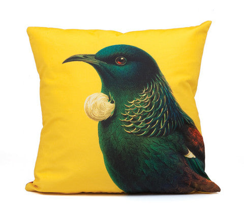 100%NZ - Cushion cover - Bright Tui