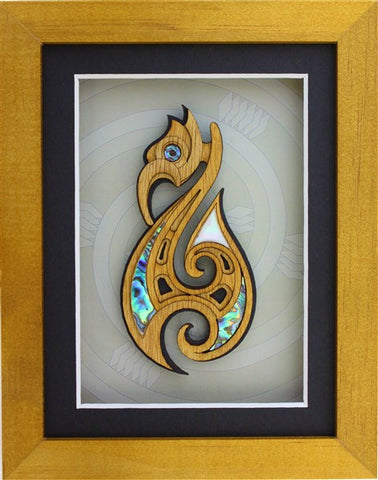 Carved Hook Frame