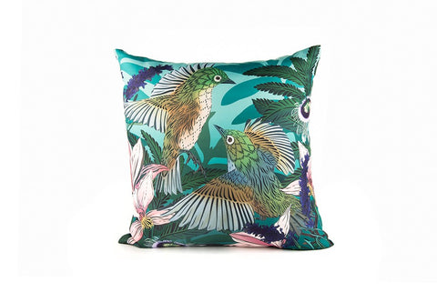 Flox Outdoor Cushion Cover - Wax Eye