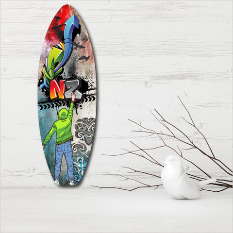 Ply Surfboard Art - Grafiti NZ
