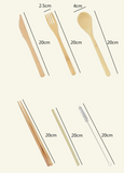 Eco Bamboo Cutlery Set of 6