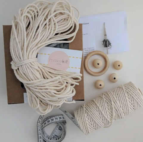 Make your own Macrame Plant Hanger Makekit