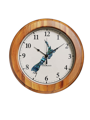 Rimu Clock - PAUA NZ Map