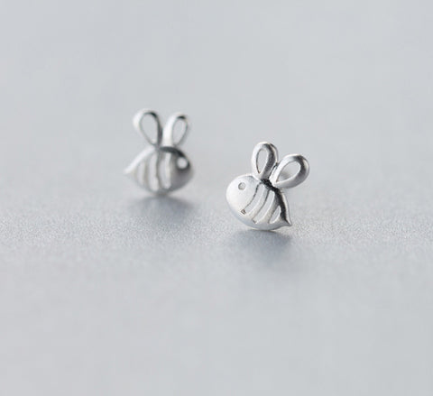 Flying Bee - Sterling Silver