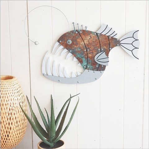 Layered Fish Wall Art : Anglar