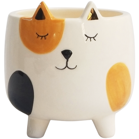 Ginger Cat Planter on Legs