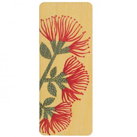 NZ Made Bookmark Pohutukawa
