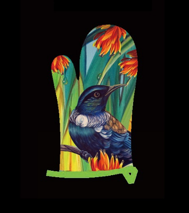 Oven Mitt -- Enchanted Tui