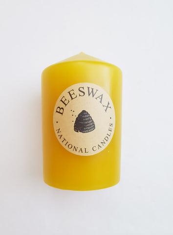 Beeswax Candle 65 x 100mm NZ Made