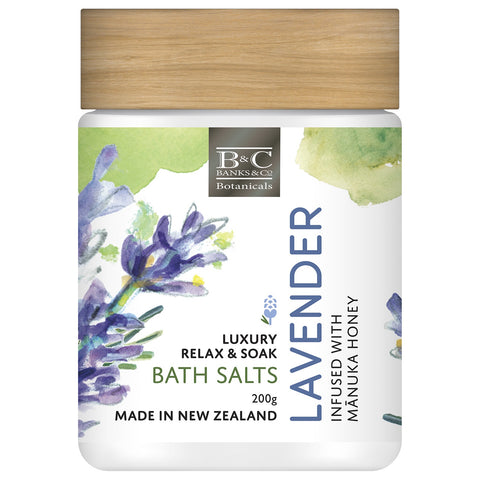 Lavender Relax & Soak Bath Salts