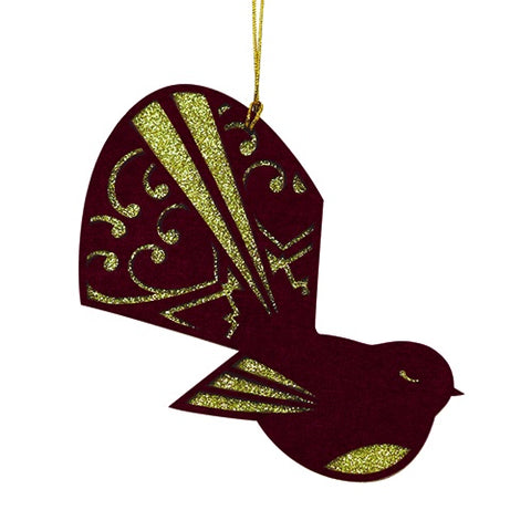 Xmas Decoration Flock Fantail