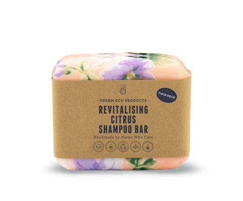 Revitalising Citrus Shampoo Bar - Twin Pack