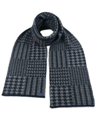 Merino Possum Hounds Tooth Scarf