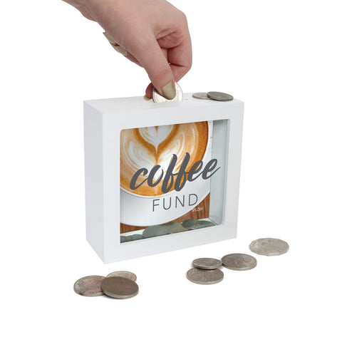 Coffee Fund Mini Money Box