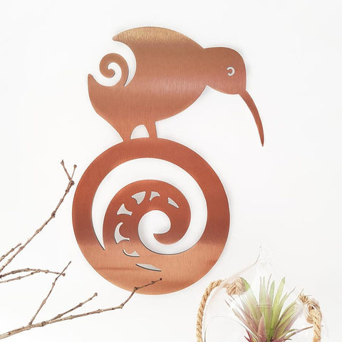 Kiwi on Koru ACM Copper