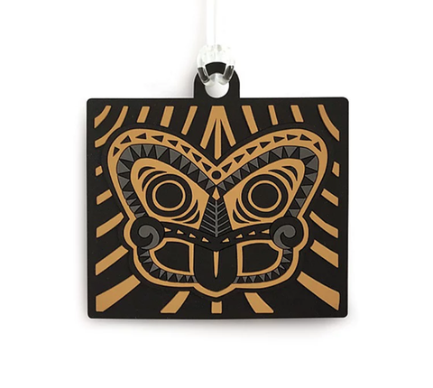 Bag Tag - Tiki Gold