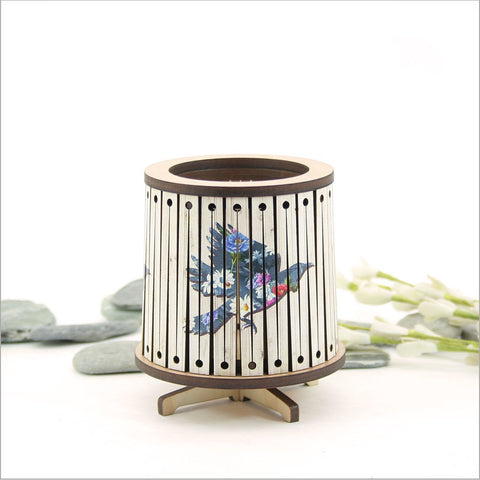 Round LED Tealight Holder -Tui