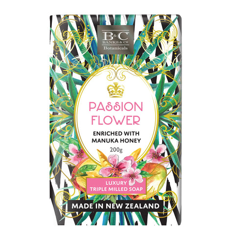 Passion Flower Luxury Soap