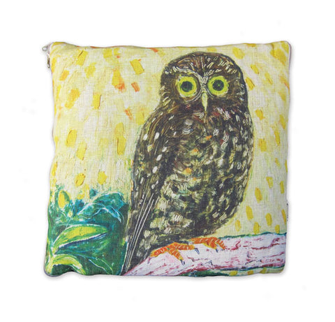 CUSHION BLANKET - Sunshine Owl