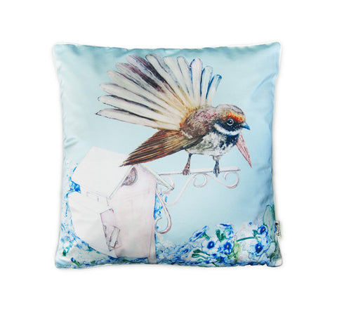 Cushion cover - Fantail & Mailbox
