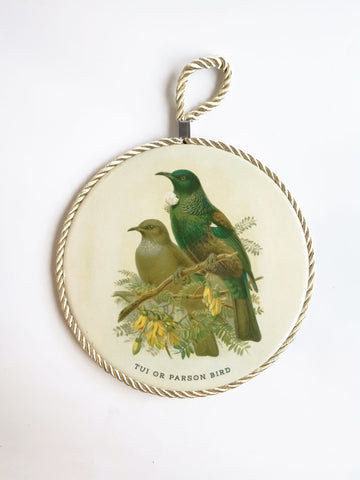 Ceramic Tablemat / Wall Hanger - Tui