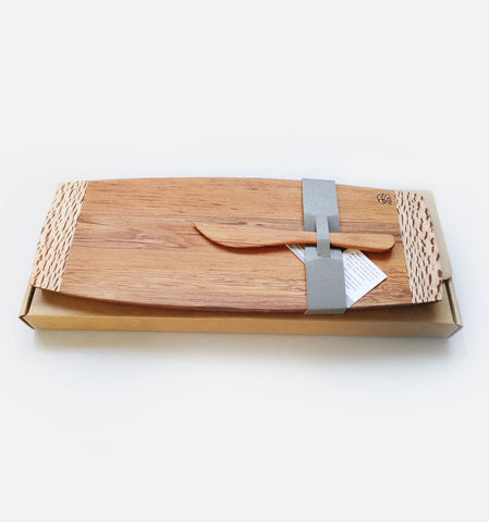 Waka Cheese Board Mix Wood MZ Design NZ Made