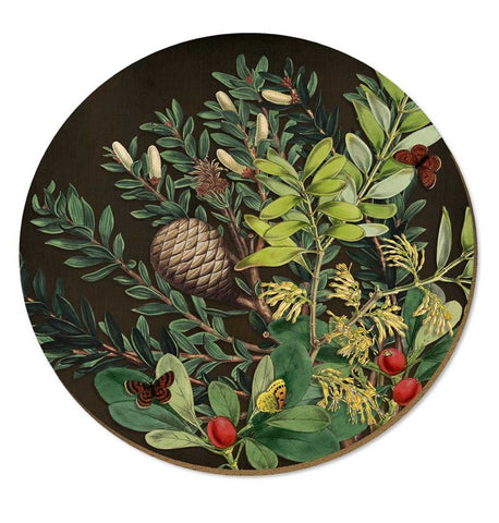 Placemat - Pine Cone & Berries