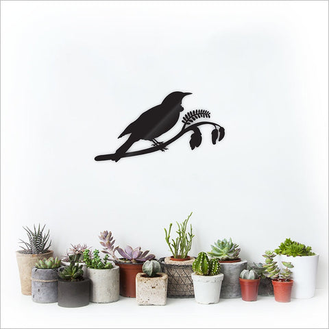 Tui on Kowhai  Birds Wall Art