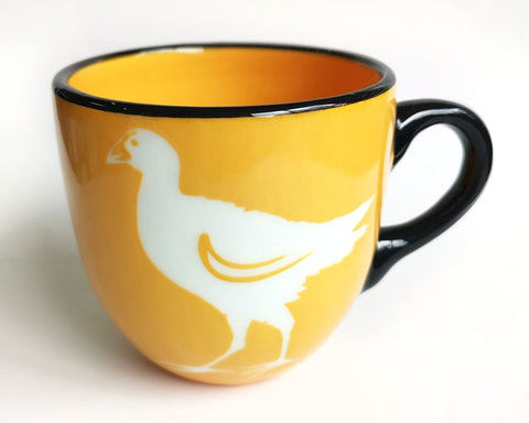Yellow Pukeko Ceramic Mug