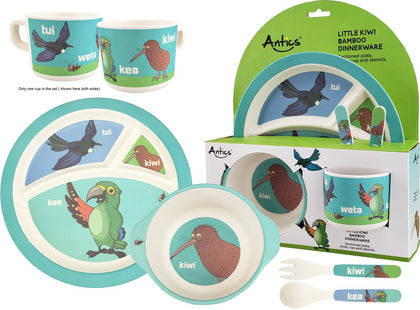 Bamboo Dinnerware - Little Kiwi