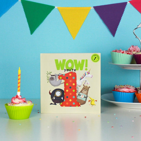 Birthday Book - Wow! You are 2