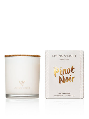 PINOT NOIR DREAM MADISON JAR SOY CANDLE Living light candle