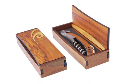Corkscrew Circle in Rimu Box