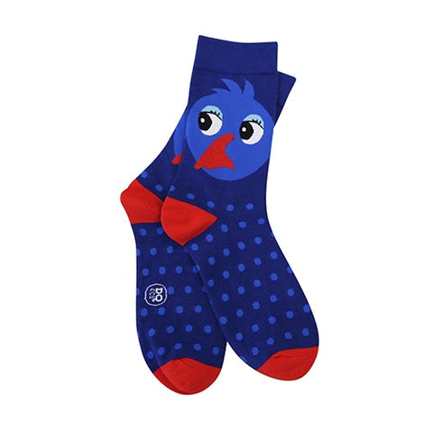Socks Cute Pukeko
