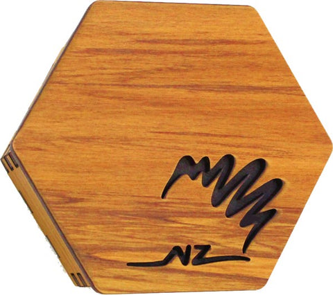 Rimu Hexagonal Box - Kiwi