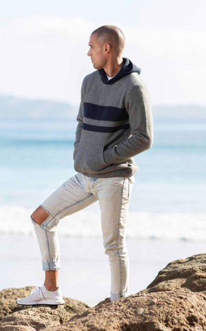 Merino Possum Hooded Jumper