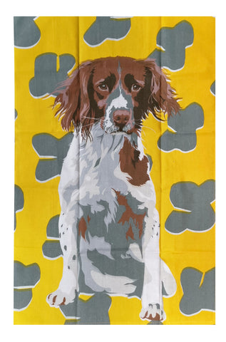 Tea Towel - Spaniel Dog