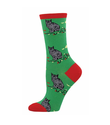 Christmas Cat-astrophe-Green