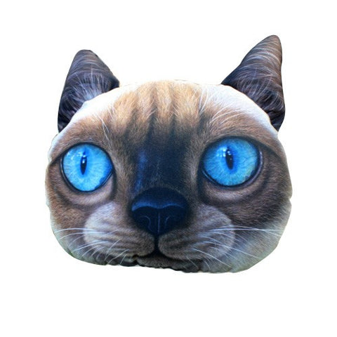 Siamese Cat - Car Neck Cushion