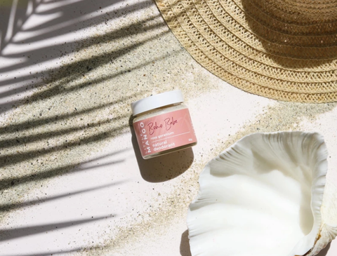 Rose + geranium natural deodorant